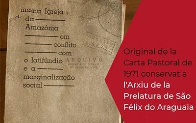 Como uma carta de Casaldáliga mudou a Amazônia