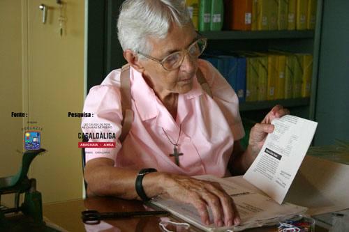Esta é a mulher que morou 30 anos com Dom Pedro Casaldáliga