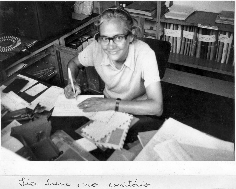 Irene Franschini, alma del archivo de la Prelatura