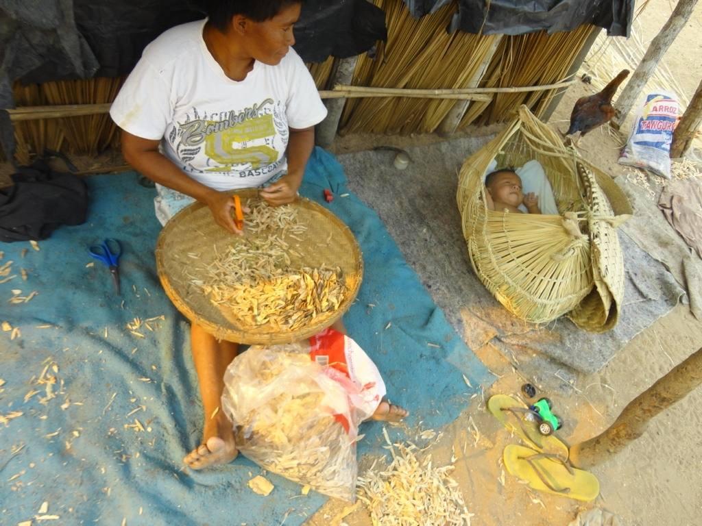 Dona del Poble Indígena Xavante, a l'Araguaia