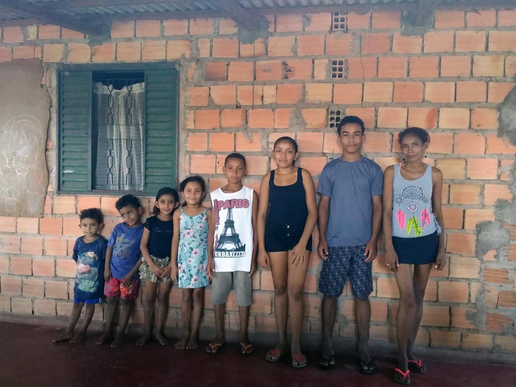 La família de la Darlete viu a l'Assentament Dom Pedro