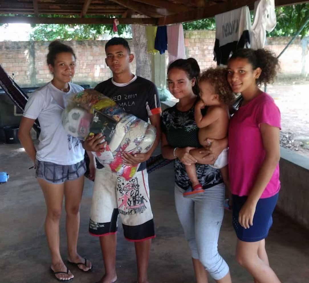 Família venezolana a São Félix do Araguaia
