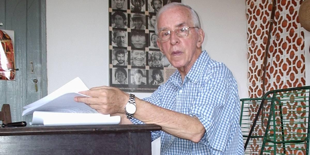 Pere Casaldàliga a casa seva a São Félix do Araguaia