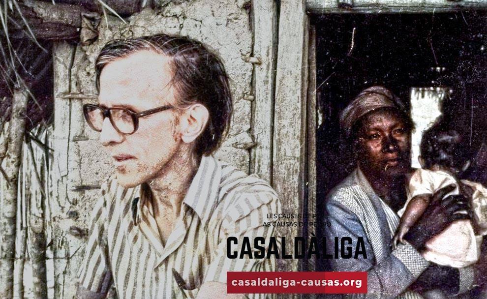 Pere Casaldàliga visitant les comunitats de la seva Prelatura