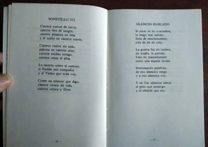 """Página del libro """"El tiempo y la espera"""" de Pedro Casaldáliga"""