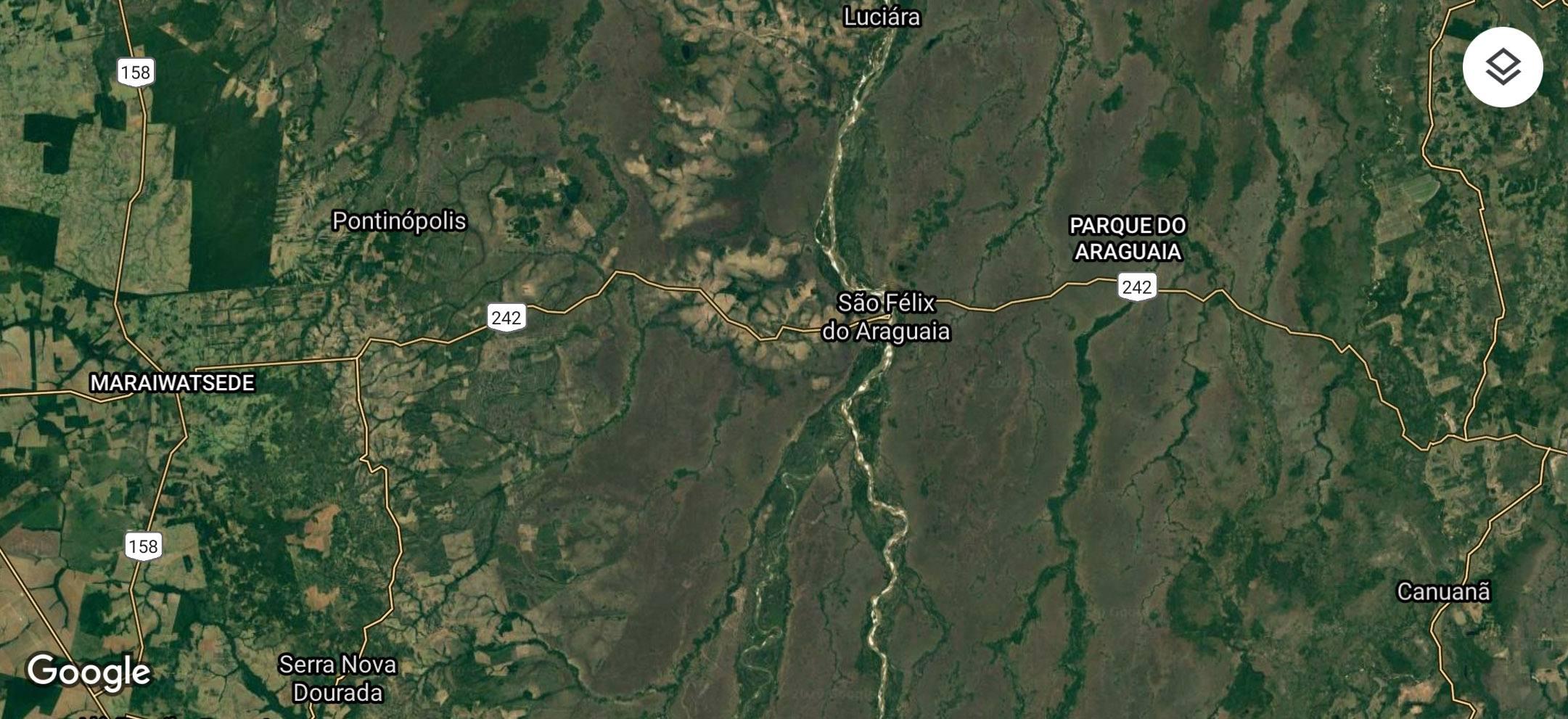L'entorn de São Félix do Araguaia