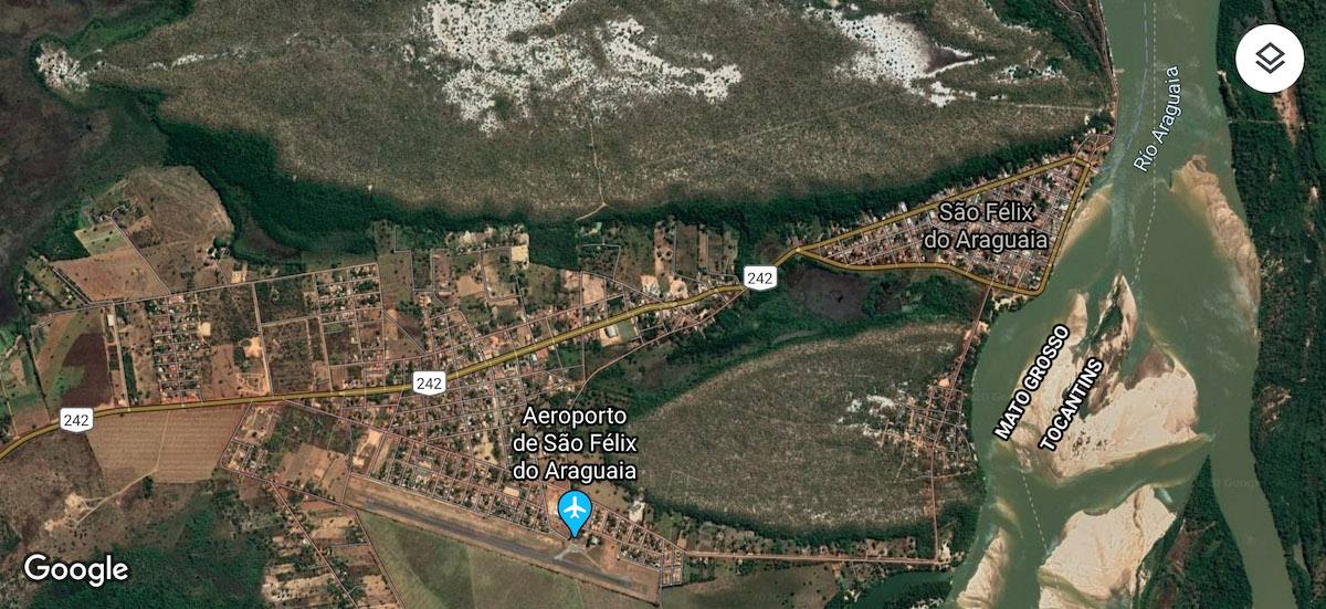 Aproximació a São Félix do Araguaia