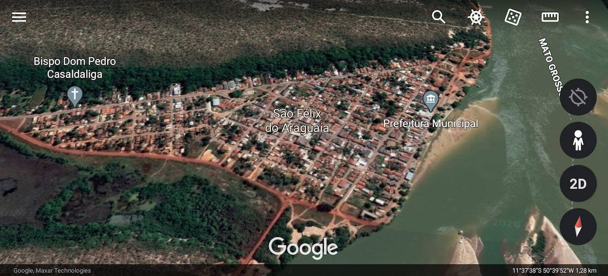 Centre de São Félix do Araguaia