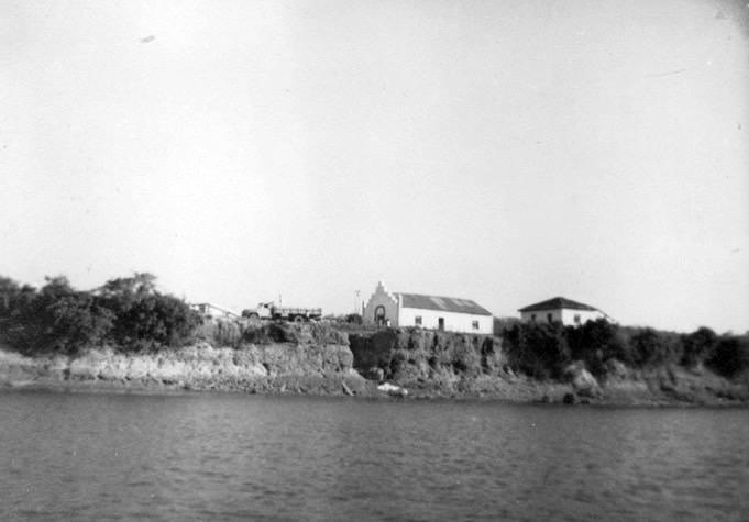 Primeira Capela e casa dos Padres em São Félix