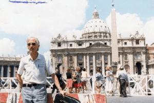 Pere Casaldàliga viatja al Vatica i s'entrevista amb Ratzinguer i Joan Pau II