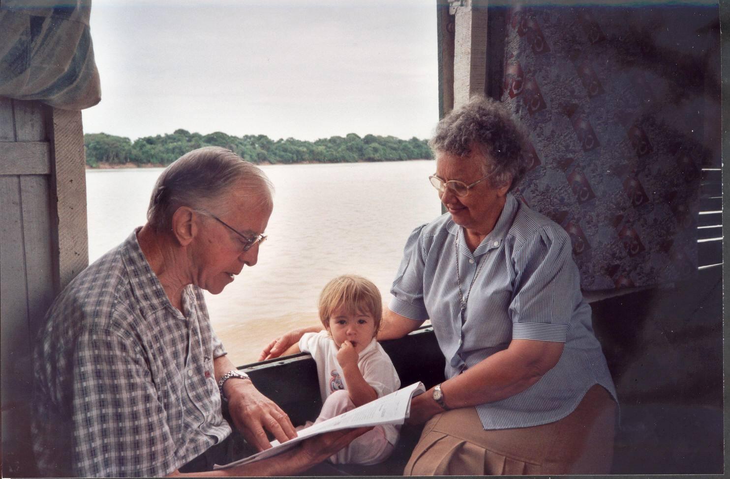 Pere Casaldàliga a l'Araguaia