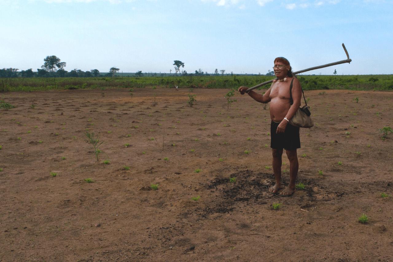 El poble Xavante va ser expulsat de la seva terra