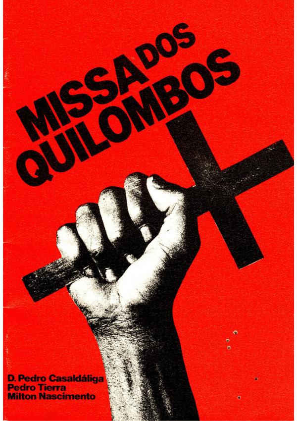 Cartell de la Missa dos Quilombos
