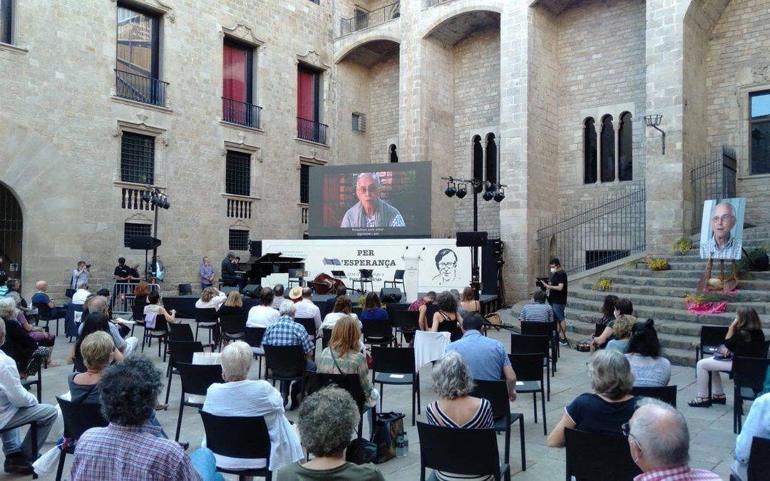 "Barcelona agradece ""a utopia fértil"" de Casaldáliga"