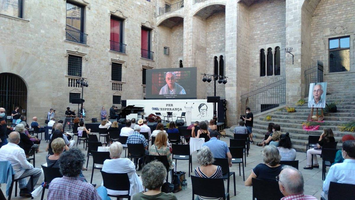 Homenatge a Pere Casaldàliga