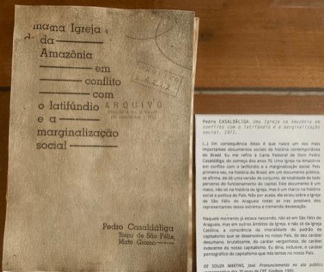 Este es el documento que cambió la Amazonía