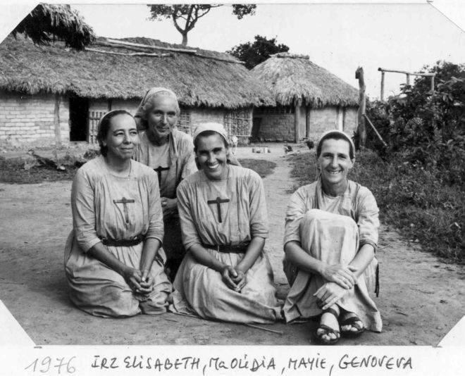 Las Hermanitas de Jesús siguen con el pueblo Tapirapé